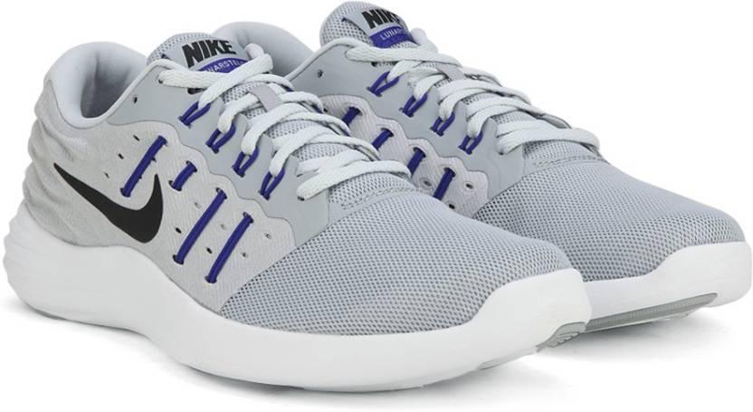 free shipping e7141 4b9d2 Nike LUNARSTELOS Running Shoes For Men (Grey)