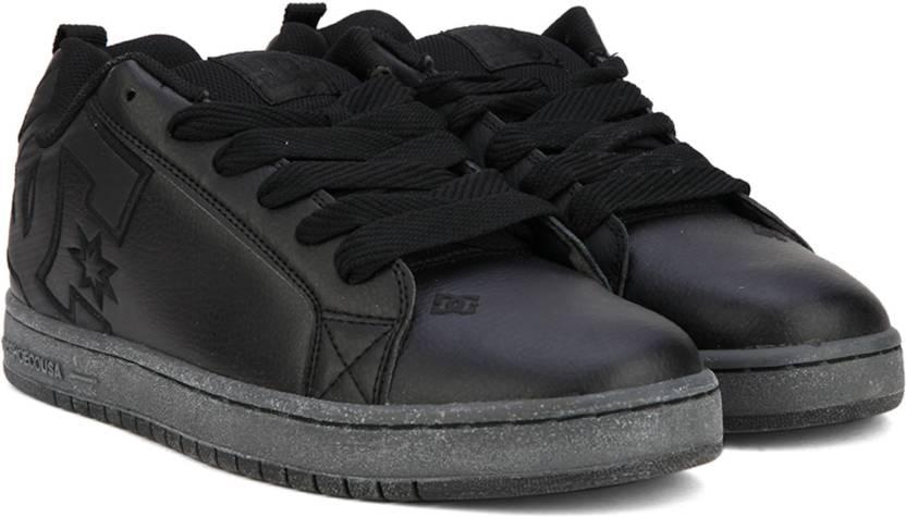 7ff4cf454e3a36 DC COURT GRAFFIK S M SHOE Sneakers For Men - Buy BLACK 3 Color DC ...