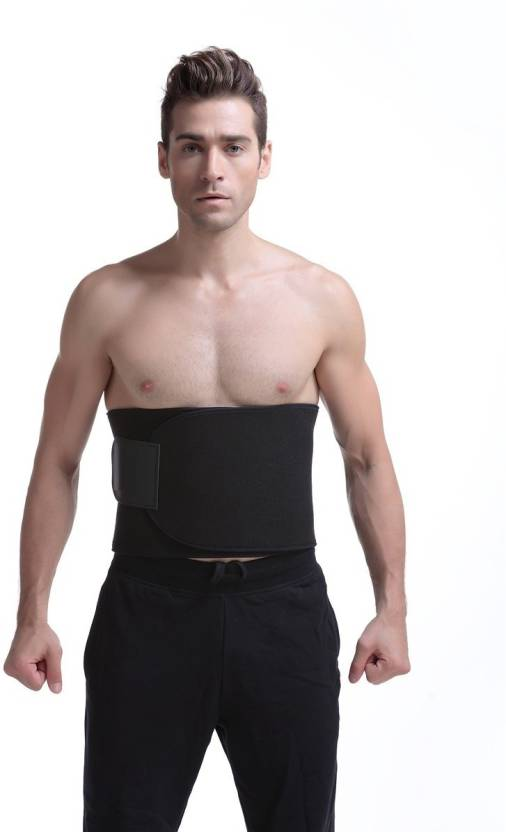 ec326f5a41 Wonder World ™ Neoprene Sauna Sweat Waist Trainer Body Slimming Belt (Black)