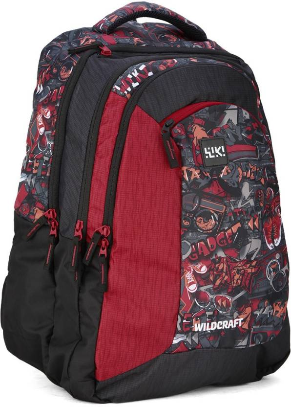 Wildcraft Wiki 9 Punk 7 49 5 L Backpack Red Price In India