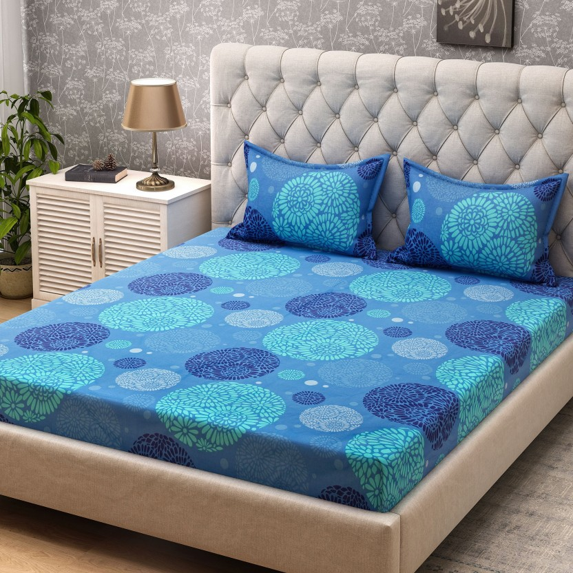 Perfect Bombay Dyeing 104 TC Cotton Double Printed Bedsheet