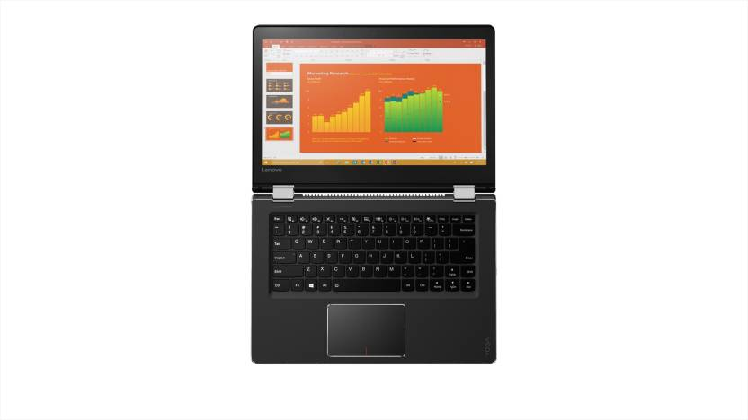 Lenovo Yoga 510 Core i3 6th Gen - (4 GB/1 TB HDD/Windows 10 Home) Yoga 510 2 in 1 Laptop  (14 inch, Black, 1.73 kg) Lenovo Laptops