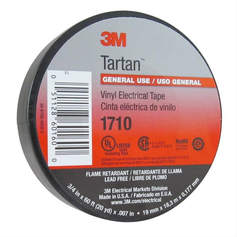 3M PVC Tape 3M Tartan 1710 general use vinyl electrical Tape Price