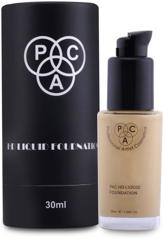 Pac Hd Liquid Foundation 2 1 Foundation Price In India Buy Pac