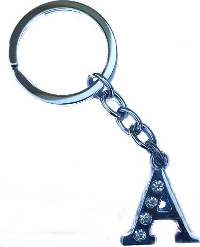 spot deal sdl982 a letter full metal key chain key chain price in