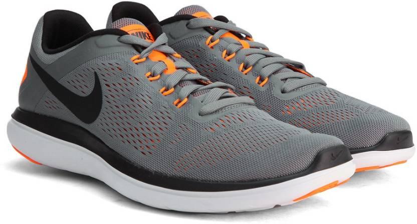 Nike FLEX 2016 RN Running Shoes For Men - Buy COOL GREY BLACK-BLACK ... 48dda97c8bfe