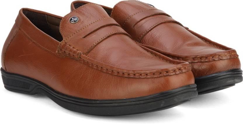 421f43048fe Arrow FORMAL MOC Loafers For Men - Buy TAN Color Arrow FORMAL MOC ...