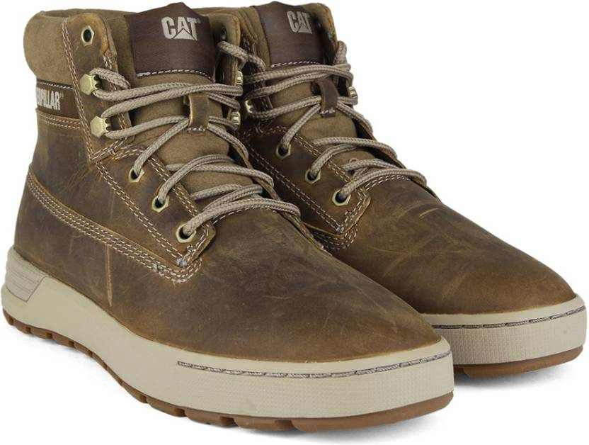 a602f61652f CAT RYKER Boots For Men - Buy Dark Beige Color CAT RYKER Boots For ...