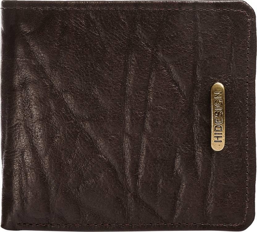 Hidesign Men Brown Genuine Leather Wallet