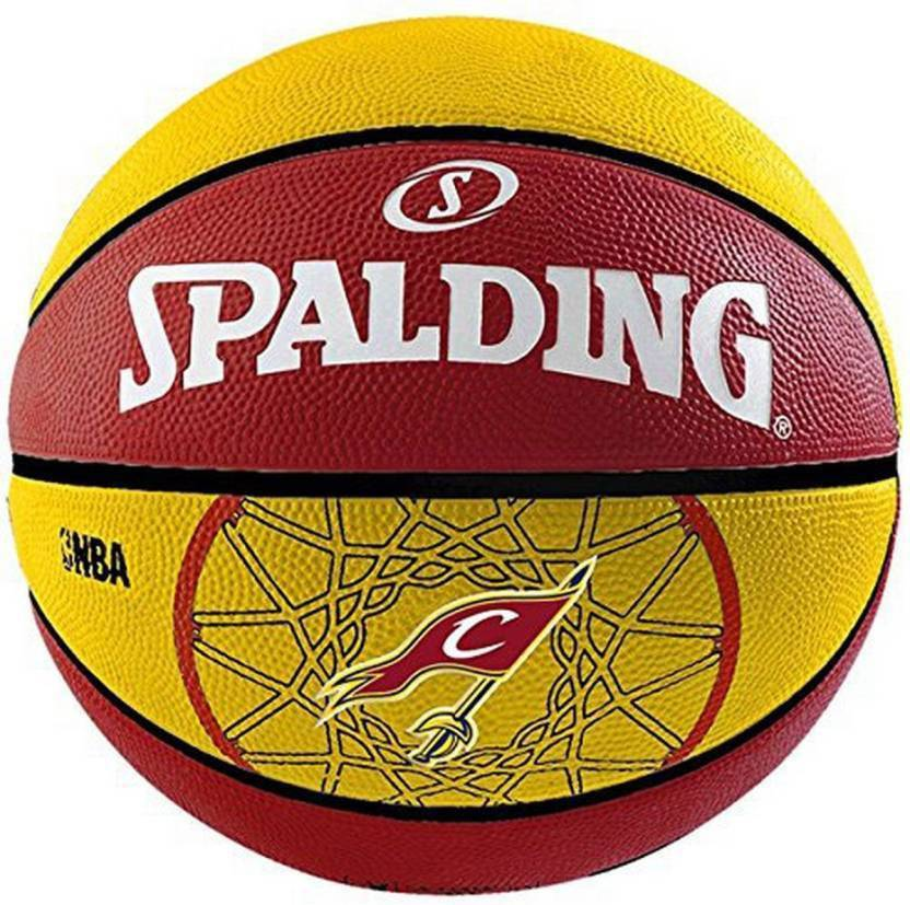SPALDING Team Cavaliers Basketball -   Size: 7