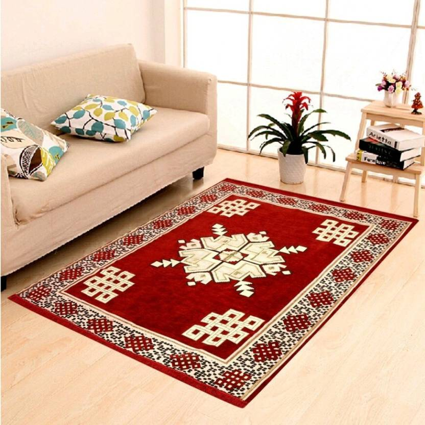 Rudra Decor Red Velvet Carpet Buy Rudra Decor Red Velvet Carpet Online At Best Price In India