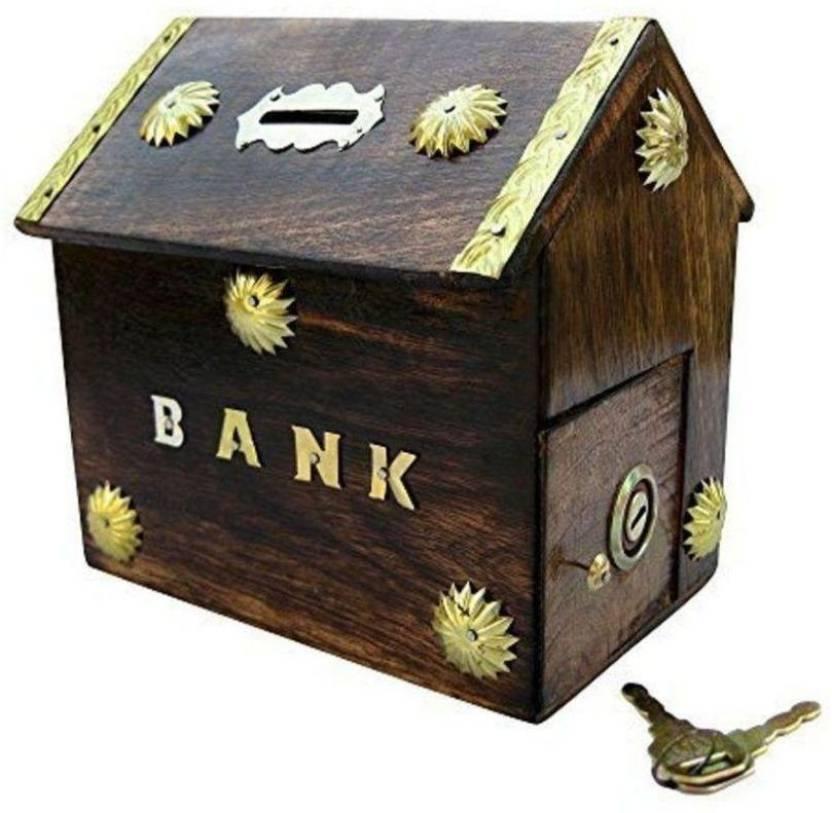 Craftspoint hut shape money box/piggy bank/money bank/coin bank Coin Bank