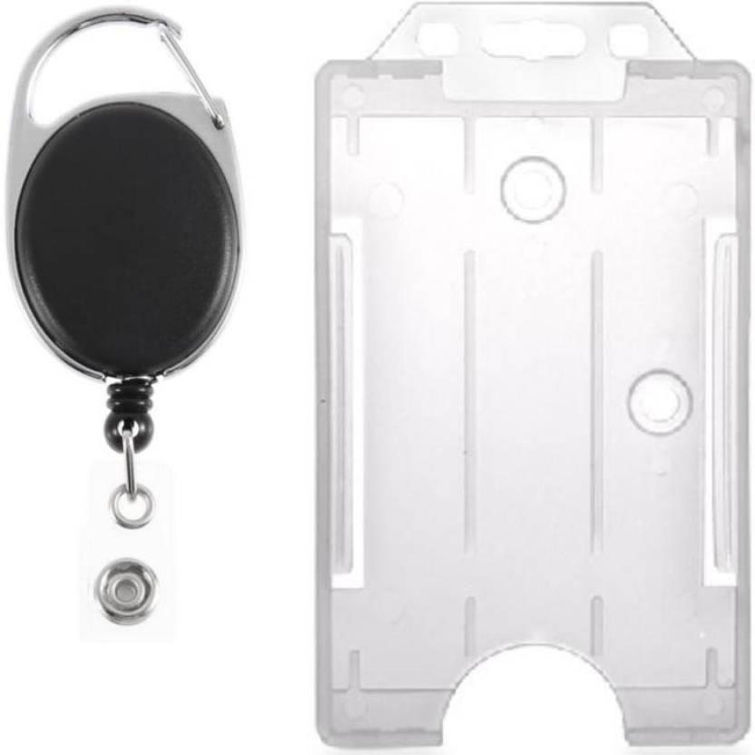 size 40 1dc54 fe18f TheFlauntStore Plastic ID Badge Holder