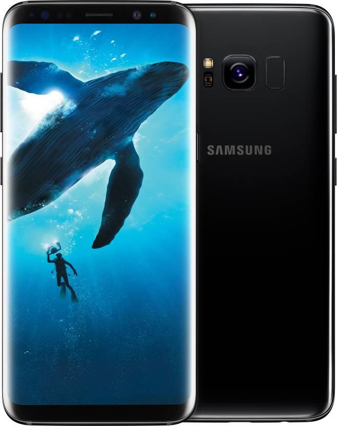 Samsung Galaxy S8 (Midnight Black, 64 GB)(4 GB RAM)