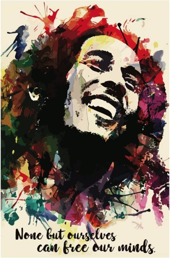 Bob Marley Quote Art Poster Paper Print Music Posters In India