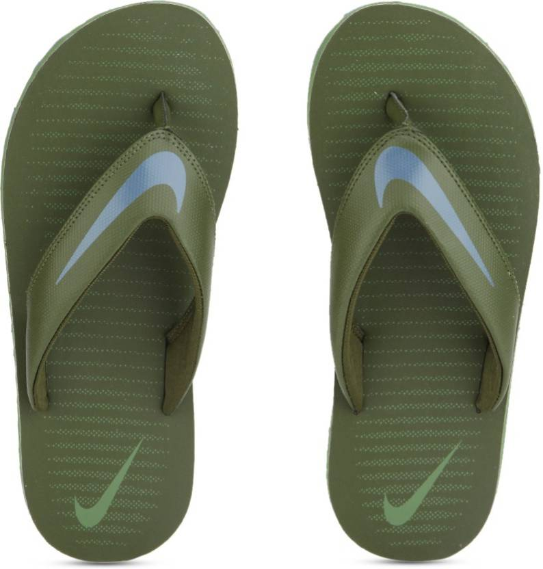 4f969b5ecbbb Nike CHROMA THONG 5 Slippers - Buy LEGION GREEN   SMOKEY BLUE - PALM GREEN  Color Nike CHROMA THONG 5 Slippers Online at Best Price - Shop Online for  ...