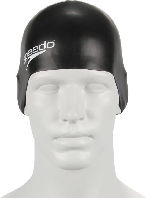 1374c3107bd Speedo Unisex-Junior Plain Moulded Silicone Swimming Cap (Multicolor, Pack  of 1)