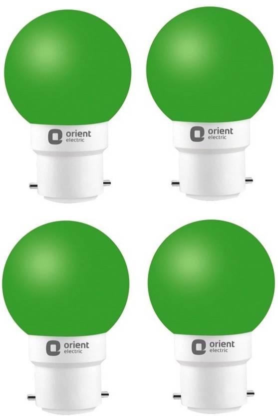 Orient Electric 0.5 W Standard B22 LED Bulb