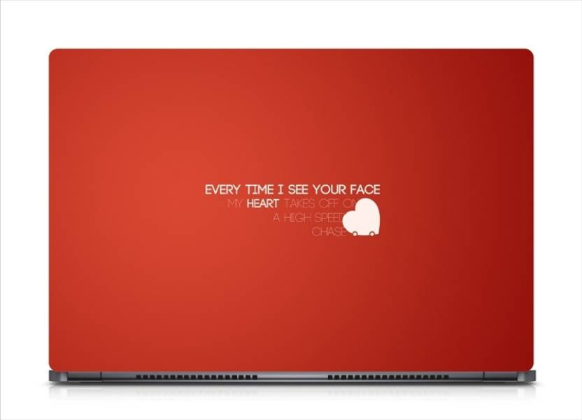 Hd Arts Love Quotes See Your Face Eco Vinyl Laptop Decal 156
