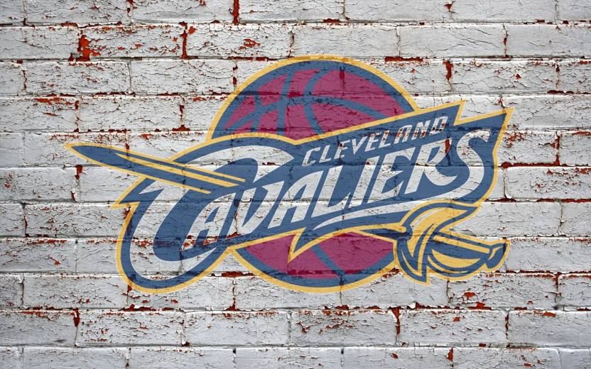 BeLucky Wall Poster Cleveland Cavaliers Nba Basketball Team Logo Wallpaper