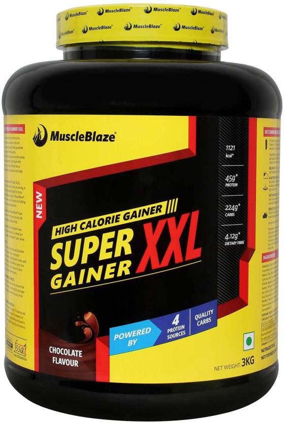 MuscleBlaze Super Gainer XXL Mass Gainers