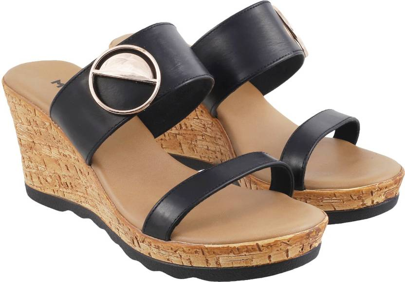 8e71149ff3 Mochi Women 11,Black Wedges - Buy Mochi Women 11,Black Wedges Online at Best  Price - Shop Online for Footwears in India | Flipkart.com