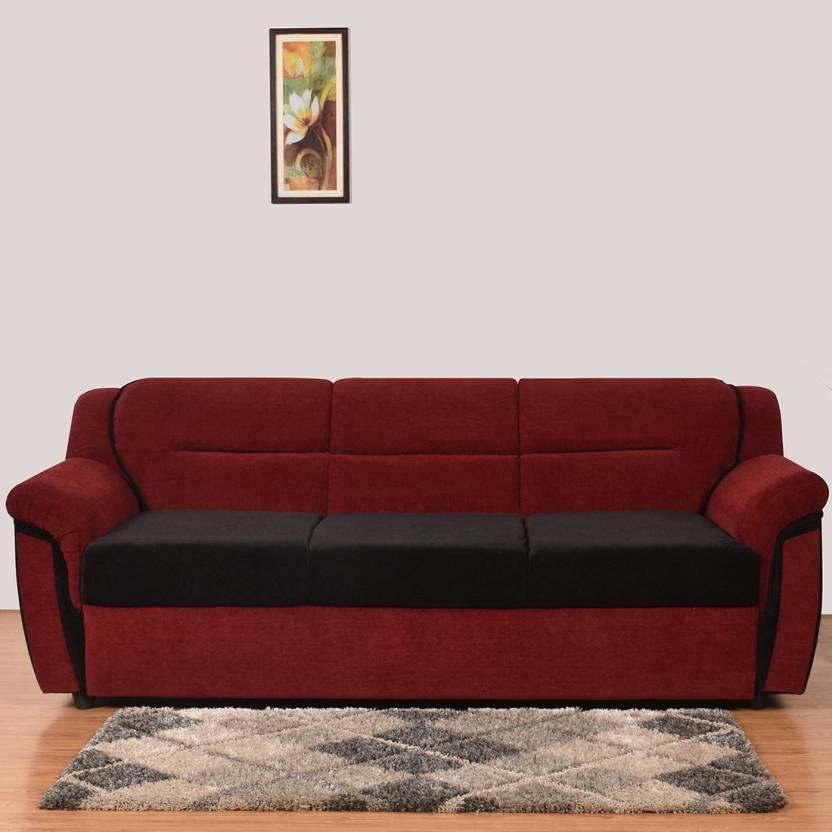 Furny Nixon Fabric 3 Seater Sofa
