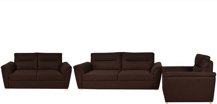 Awesome Furny Adelaide Super Fabric 3 2 1 Brown Sofa Set Price Caraccident5 Cool Chair Designs And Ideas Caraccident5Info