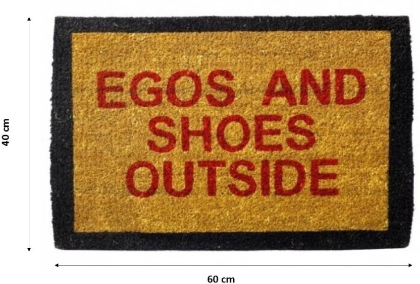 Happily Unmarried Coir Door Mat