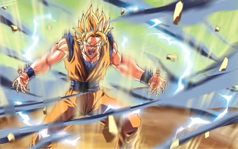 Ananyadesigns Anime Anime Dragon Ball Z Son Goku Super Saiyan