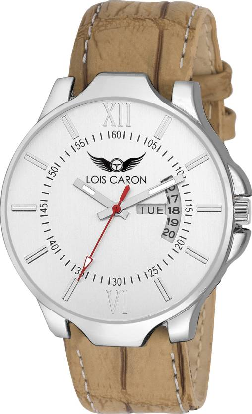 2d8915203 Lois Caron LCS-8007 DAY   DATE DAY   DATE FUNCTIONING Watch - For Men - Buy Lois  Caron LCS-8007 DAY   DATE DAY   DATE FUNCTIONING Watch - For Men LCS-8007  ...