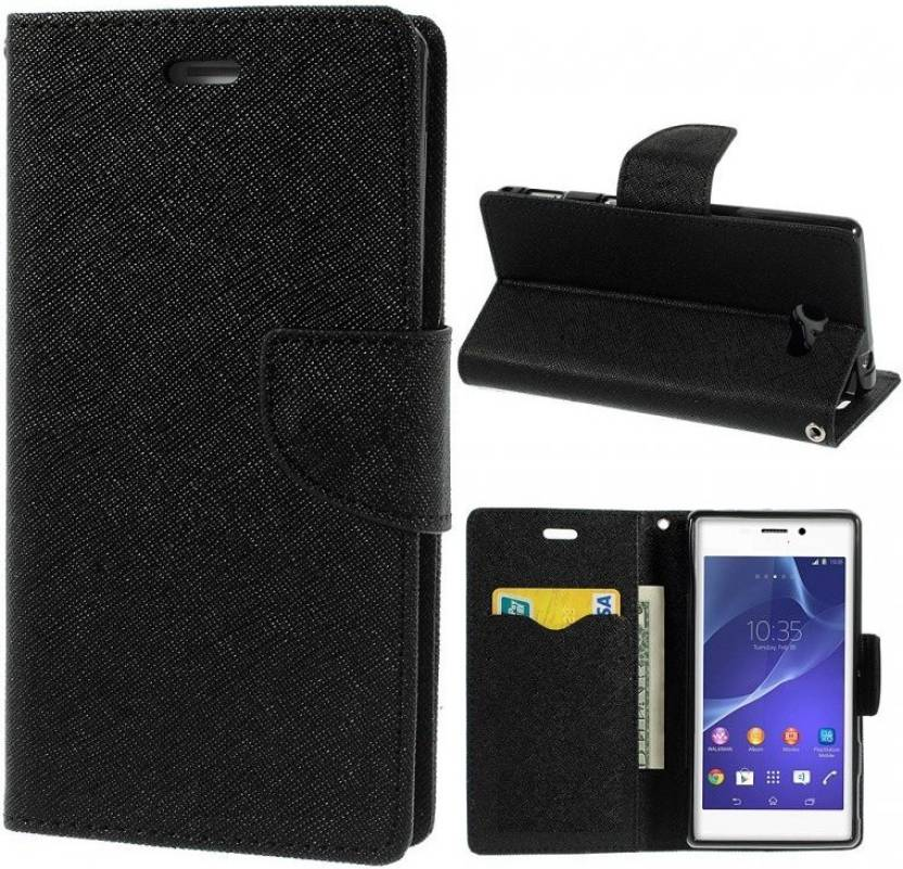 Spicesun Flip Cover for SAMSUNG Galaxy On8 Black