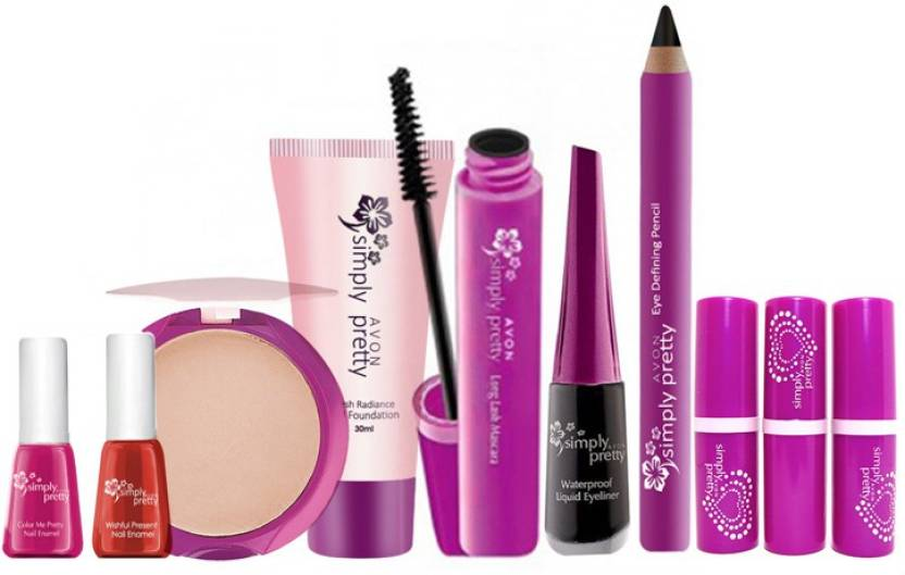 Avon Simply Pretty Complete Makeup Set 10 Pc Price In India Buy