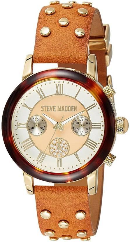 961ab6f1e98 Steve Madden SMW001G-BR Hybrid Watch - For Women - Buy Steve Madden ...
