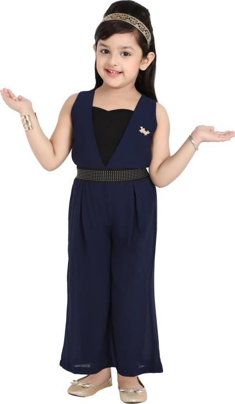 4cc982f6c Hunny Bunny Solid Girls Jumpsuit - Buy Hunny Bunny Solid Girls Jumpsuit  Online at Best Prices in India   Flipkart.com