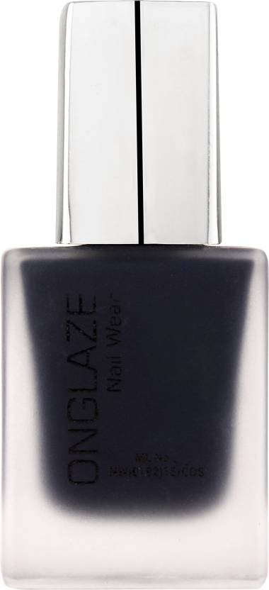 ONGLAZE Nail Polish NAVY BLUE MATTE - Price in India, Buy ONGLAZE ...