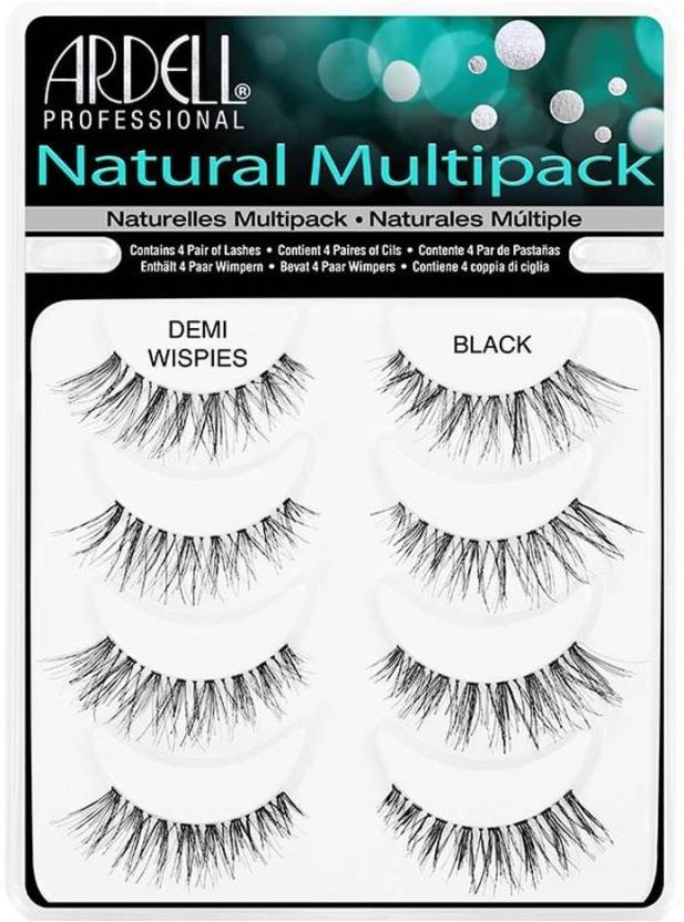 Ardell Multipack Demi Wispies Fake Eyelashes Price In India Buy