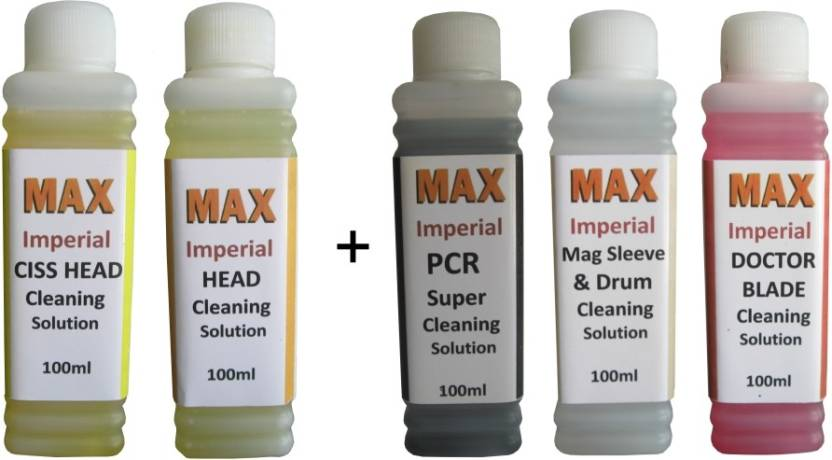 Max Imperial Complete Cleaning Solution Kit 5*100ML Use For