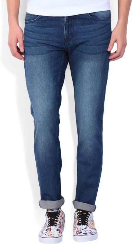 Newport Slim Mens Blue Jeans
