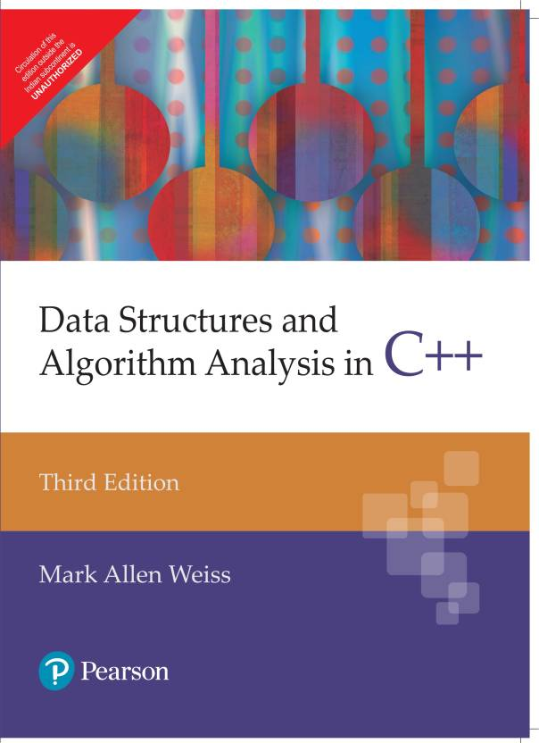 Data Structures and Algorithm Analysis in C++ 3rd  Edition