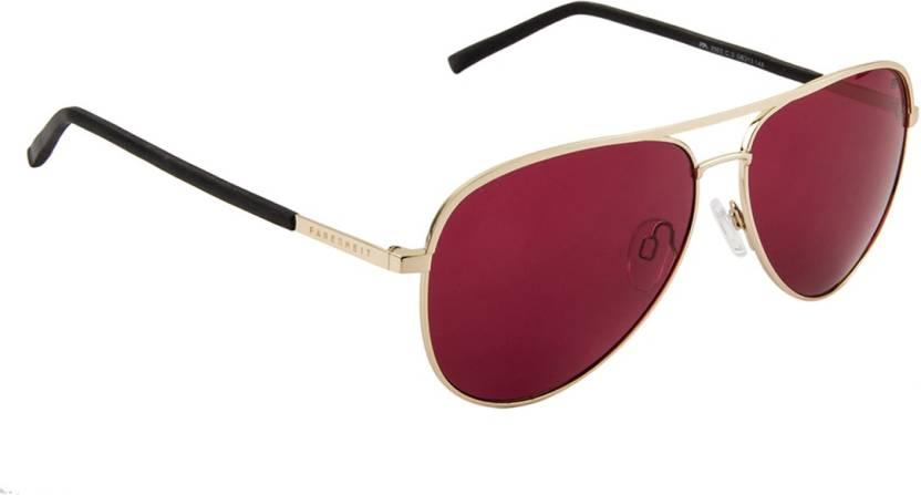 6bff3832b20 Buy Farenheit Aviator Sunglasses Red For Men   Women Online   Best ...