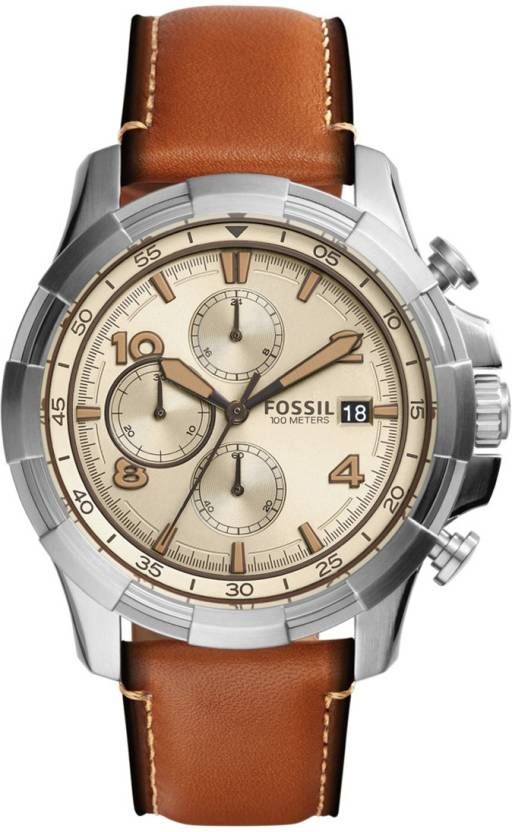 1ce6e9bb2 Fossil FS5130 DEAN Watch - For Men - Buy Fossil FS5130 DEAN Watch - For Men  FS5130 Online at Best Prices in India | Flipkart.com