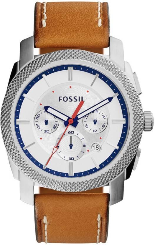 326df5d70 Fossil FS5063 Machine Watch - For Men - Buy Fossil FS5063 Machine ...