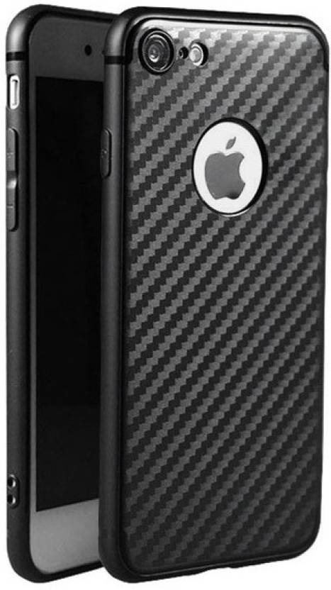 Enflamo Back Cover for Apple iPhone 7 Black, Silicon