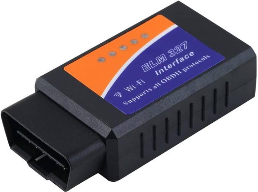 Gadget Guru ELM327 WIFI WIRELESS OBD-II SCANNER V 1 5 OBD Interface