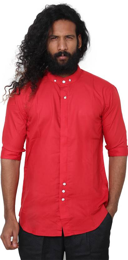 Mango People Men s Solid Party Shirt - Buy Mango People Men s Solid Party Shirt  Online at Best Prices in India  651a3f553