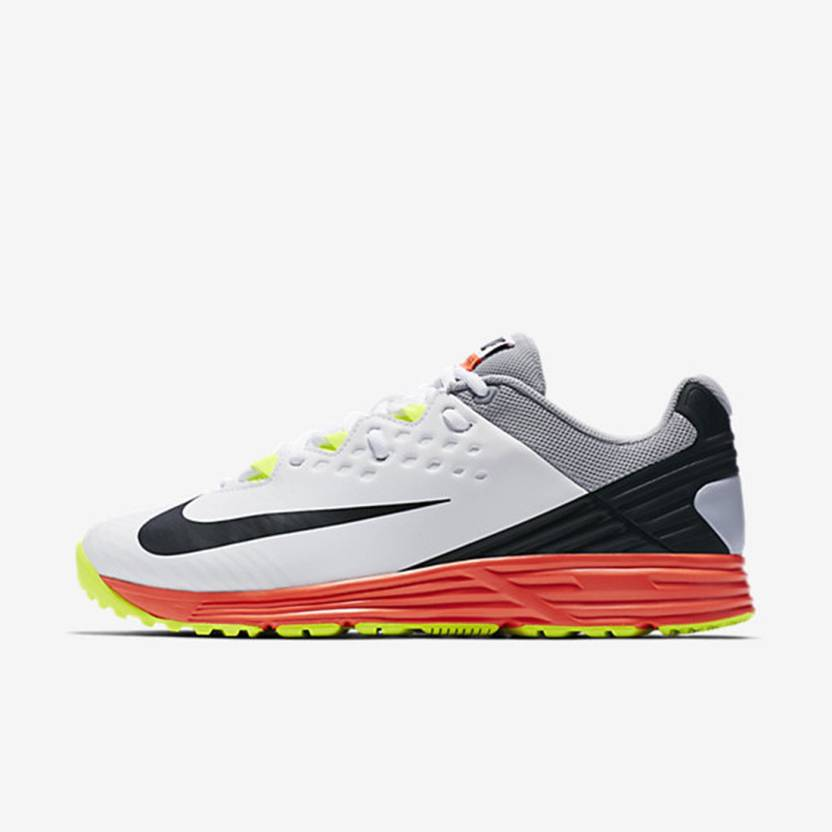 c486c3d32f5e Nike POTENTIAL 3 Cricket Shoes For Men - Buy WHITE BLACK-WOLF GREY ...