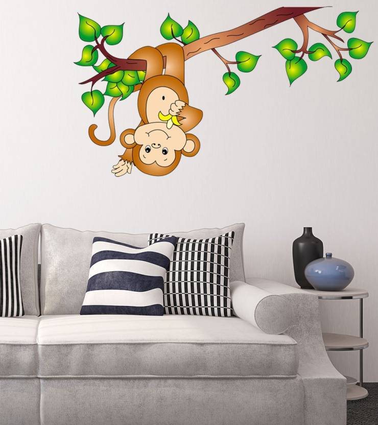 new way decals wall sticker animals wallpaper price in india - buy