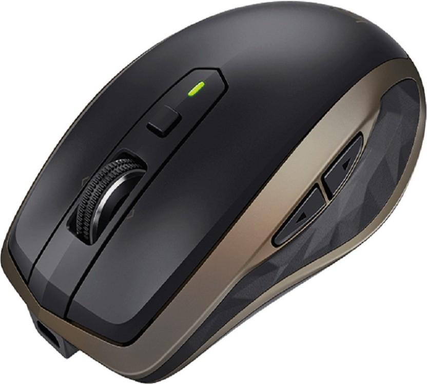 Logitech MX Anywhere 2S Bluetooth Mouse - Black : Wireless Mice ...
