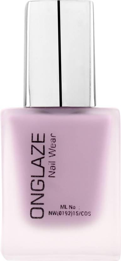 ONGLAZE Nail Polish LIGHT MAUVE MATTE Shade - Price in India, Buy ...